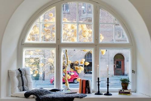 讲究色彩搭配 小居室也能装出北欧范儿