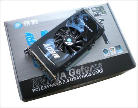 GTS250终于迎来DX11继任者-铭影GTS450512MDDR5歼灭者!