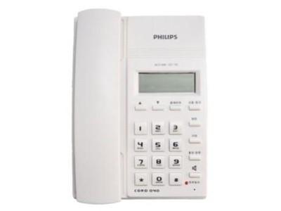 飞利浦 CORD040 来电显示电话机