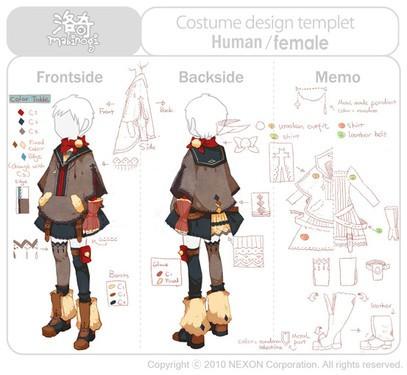 《洛奇》服裝設計創意由你定