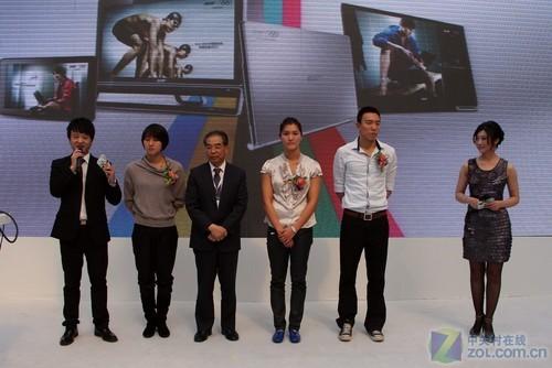 国家游泳队助力宏碁 三连拍展示新产品