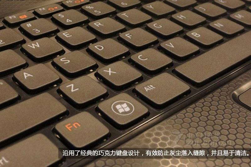 发布会现场图】戴尔14rturbo灰色键盘按键图片