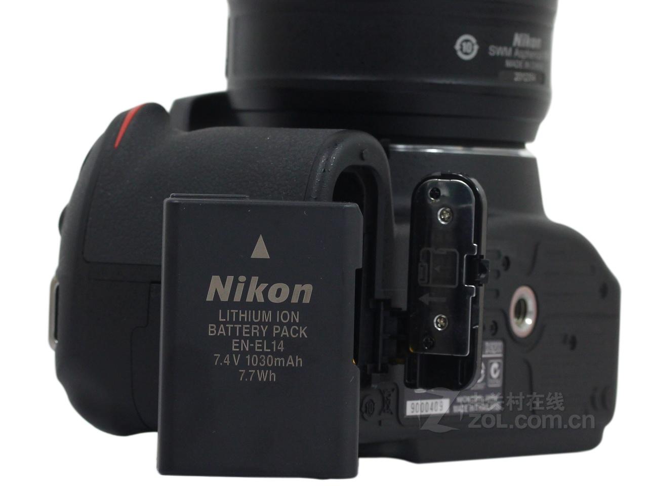 【原始大图】尼康d3200(单机)电池仓图片欣赏-zol