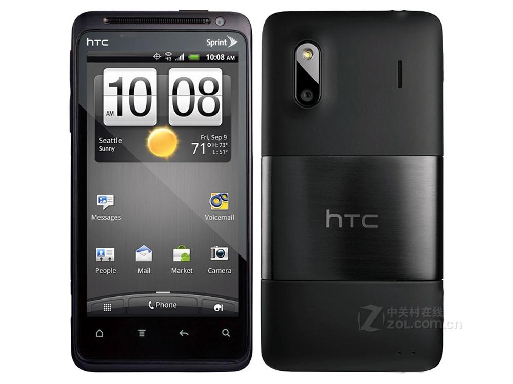 【高清图】 htc(htc)c715e(evo design 4g)黑色 图123图片