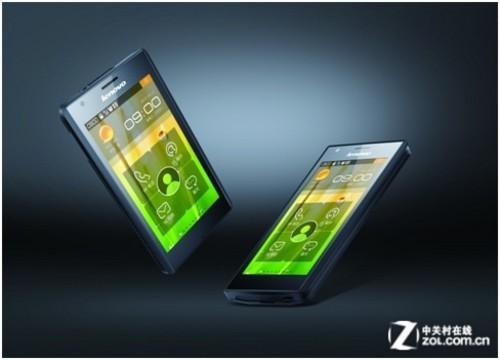 首款Intel手机 联想乐Phone K800京东首发