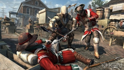 《刺客信条3》E3最新游戏演示 截图欣赏