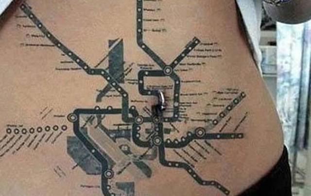 快手巴扎黑身上的纹身分享展示图片