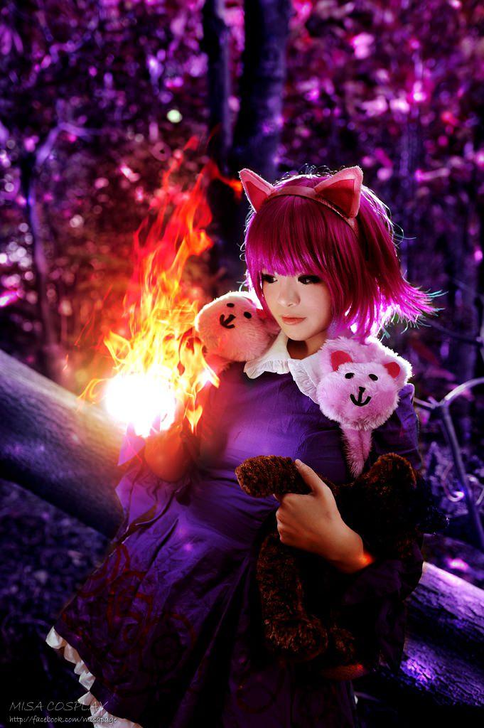 英雄联盟黑暗之女安妮cosplay照精选图片