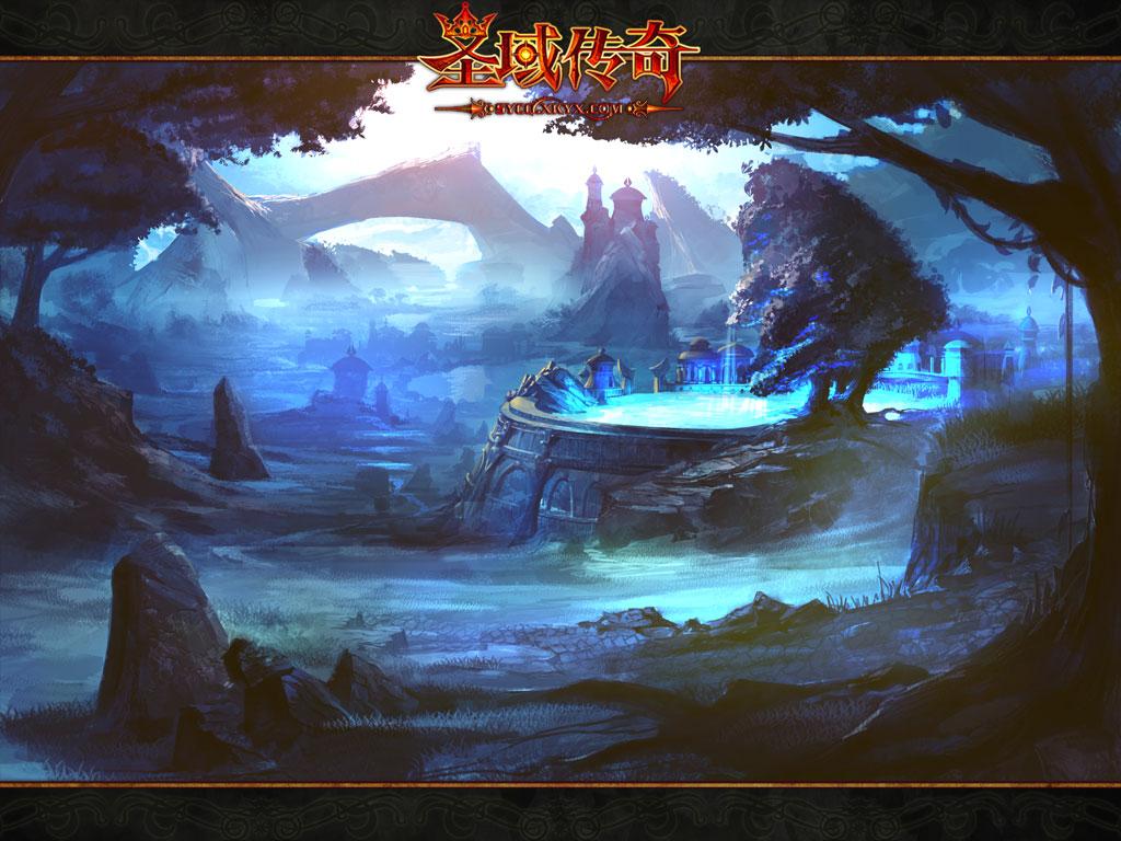 《圣域传奇》暗黑魔幻风壁纸赏析