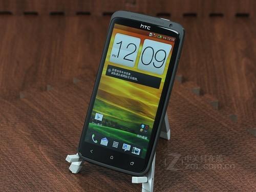 HTC One X 黑色 外观图