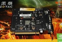 2GB索泰GT640新卡售769元送888元游戏卡