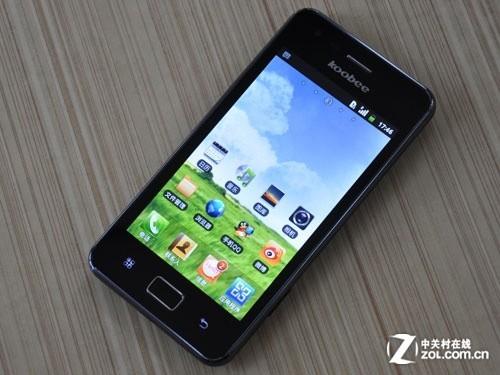 W+G高通双网Android2.3 koobee A209评测