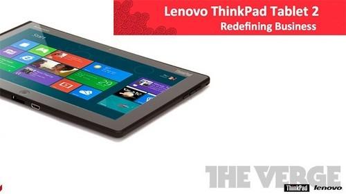 联想ThinkPad Win8商务平板配置曝光