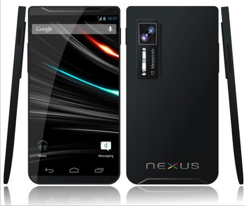 GALAXY Nexus 2概念图 设计精心配置夸张