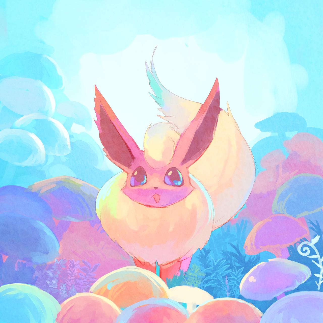 超可爱的宠物小精灵主题画作赏-第8页-游戏