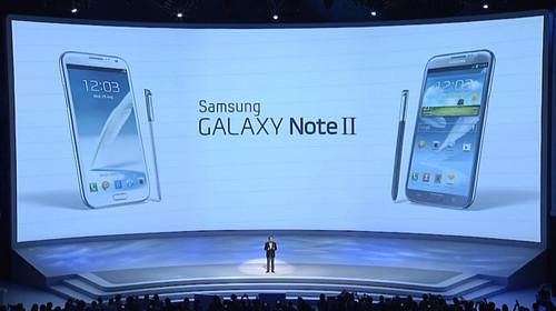 5.5吋/四核/安卓4.1 三星Note2正式发布
