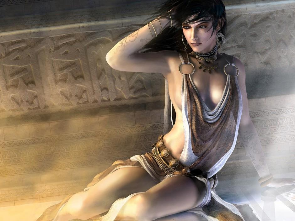 凯莲娜 波斯王子 吐血推荐 超大宽屏游戏壁纸搜罗高清图片