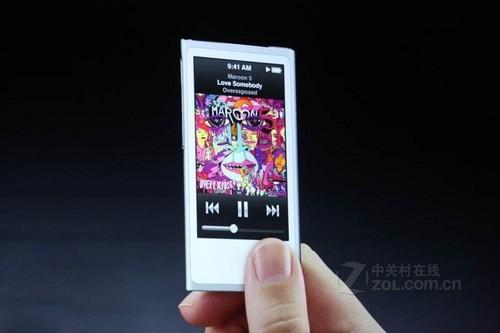 炫彩机身设计 iPod nano 7仅售价1050元