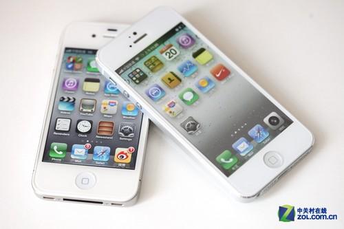 变化并不大 看iPhone5模型对比4S真机
