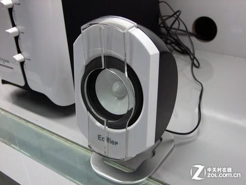 功放电路低噪声设计 时尚2.1音箱239元-中关村在线