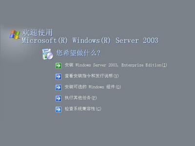 Microsoft Windows Server 2003 中文企业版(25 USER)coem