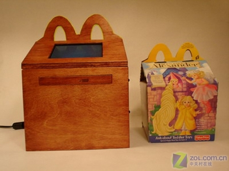 麦当劳儿童套餐主题机箱改造