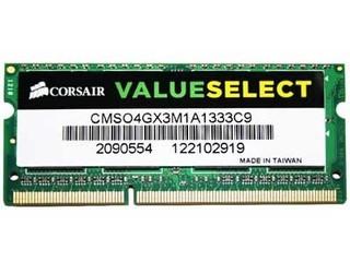 海盗船4GB DDR3 1333(CMSO4GX3M1A1333C9)
