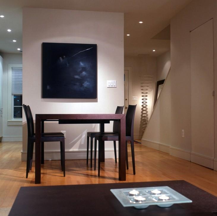 华盛顿的现代家居设计师亚当摩根的照明设计赏析。