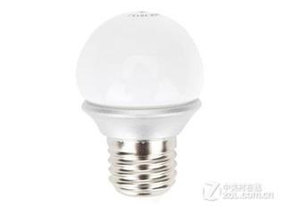 佛山LED球泡3W超炫E27日光色