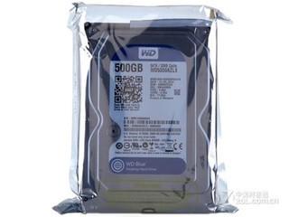 西部数据500GB 7200转 32M SATA3 蓝盘(WD5000AZLX)