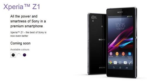 2070万像素G镜头 索尼Xpeira Z1德国发布