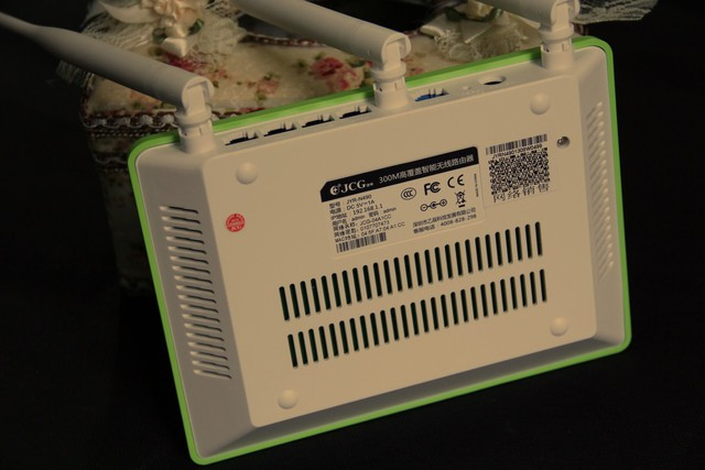 JCG智能无线路由器 时尚JYR-N490抢先看