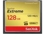 闪迪至尊极速CompactFlash存储卡(128GB)/SDCFXS-0128G