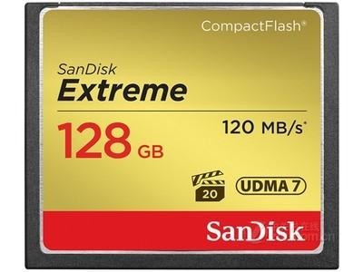 闪迪 至尊极速CompactFlash存储卡(128GB)/SDCFXS-0128G