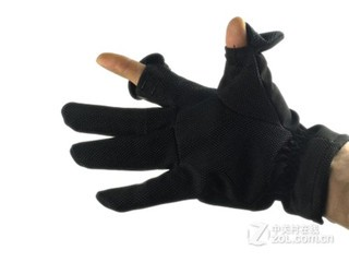 赛富图第三代单反相机专业防寒保暖防滑摄影手套L号