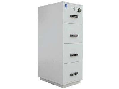 泰格 FRD-44  一小时防火防磁文件柜/保险柜  4个磁碟抽屉 泰格防火柜 FRD44