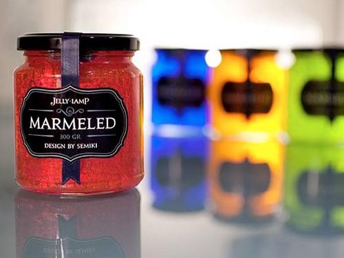 精彩设计:时尚多彩的Marmeled果冻灯
