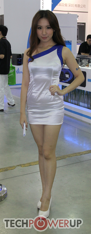 台北电脑展又一大波妹子来袭 130张ShowGirl美图一网打尽的照片 - 109
