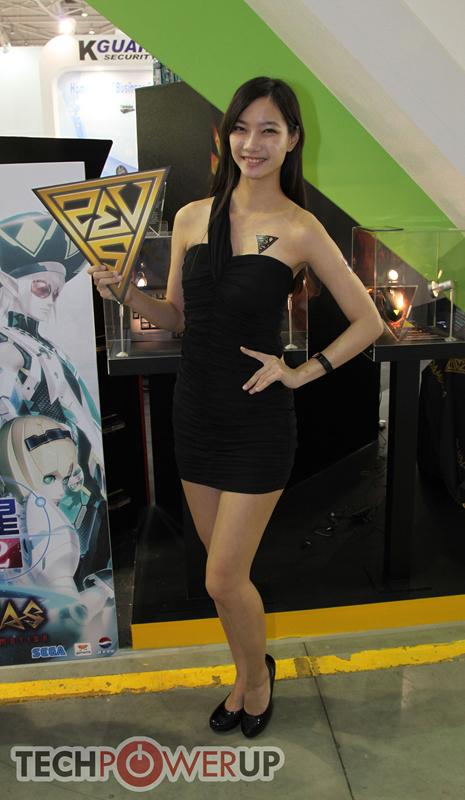 台北电脑展又一大波妹子来袭 130张ShowGirl美图一网打尽的照片 - 114