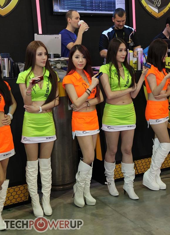 台北电脑展又一大波妹子来袭 130张ShowGirl美图一网打尽的照片 - 5
