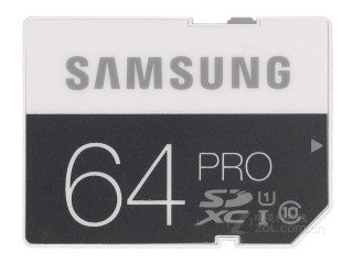 三星SDXC卡专业版(64GB)MB-SG64D
