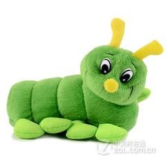 PLUFY 正品可爱卡通毛绒移动电源-绿毛虫