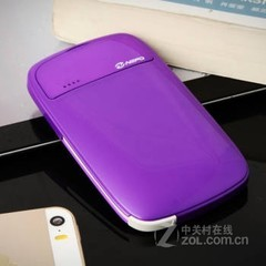 尼蒙Boompow LB超薄移动电源- 紫色