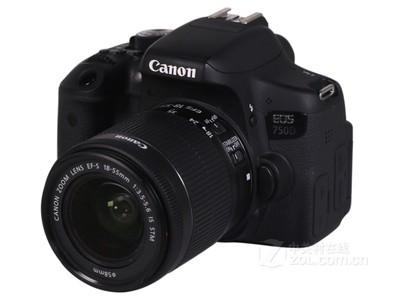 佳能(Canon)EOS 750D 数码单反相机套装 佳能750D (佳能EF-S18-55mmIS STM镜头)套机