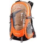 攀跃户外背包新款双肩包韩版男女休闲旅行户外运动包容量38L 专业登山包橙色