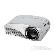 hardaway 投影仪 家用投影仪便携式高清微型投影机迷你投影仪1080P电脑优盘机顶盒 投影仪-白色