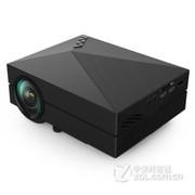 业王 GM60手机投影仪 投影机 家用高清微型投影仪 迷你 便携 电脑 笔记本 黑色 送VGA  高清线 官方标配