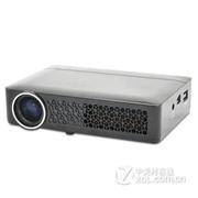 HTP DLP-800 微型 便携 投影机 投影仪 家用高清 商务会议 1080P 黑色