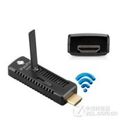 ipazzport 无线同屏器 HDMI推送宝airplay手机投影仪多屏互动传屏器 投影仪 +HDMI延长线