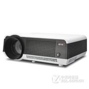 轰天砲LED-86高清家用投影机 投影仪WiFi+1080P wifi版白色